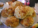 A pile of our famous scones