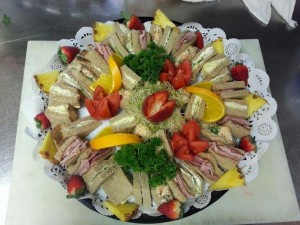 Afternoon Sandwich Tea Platter